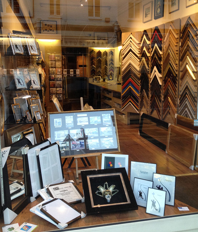 Fast Photo Frame service Chiswick West London - Aram Picture Framing